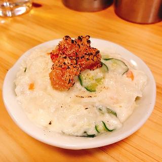 ポテトサラダ明太子のせ(大衆食堂 BEETLE)