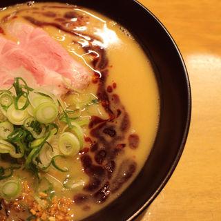 味噌ラーメン+辛化オイル(ふじ屋NOODLE)