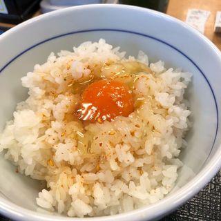ライス&こだわり卵(なか卯 熊取店 )