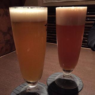 パッションフルーツビール(奄美のゆらい処 語久庵)