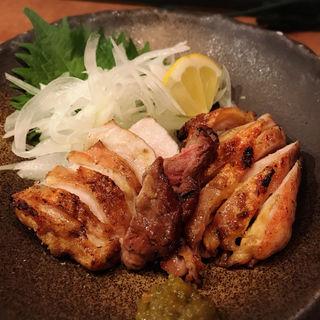 ひね鶏 わら焼き(酒肴 かおりぐさ)
