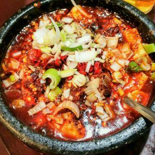 石鍋麻婆豆腐(味源)