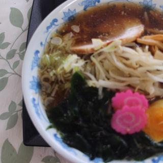 正油ラーメン(道銀ビル厚生食堂 らいらっく)