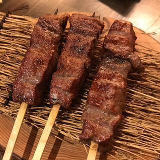 熟成上タン串(1本)(まるたんや)