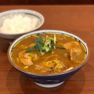 鴨肉たっぷり カレー南蛮(丸亀製麺 伊丹南町店 )