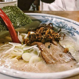 濃厚豚骨ラーメン(麺や 六三六)