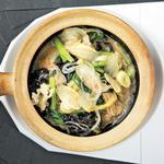 野菜・春雨・湯葉の南乳風味土鍋煮込み