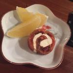 日本酒風味の干し柿 クリームチーズ巻(コノ花まひろ )