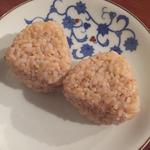 玄米のおにぎり