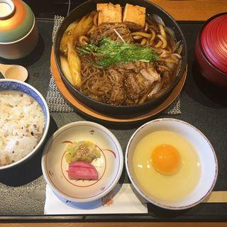すき焼き定食(木曽路 東刈谷店 (キソジ))