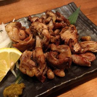 地鶏ハラミの黒焼き(酒肴 かおりぐさ)