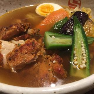 タンドリーチキンと野菜のカレー(CURRY SHOP エス)