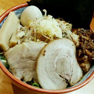 ジミヘン(全部のせ)(麺の樹 ぼだい )