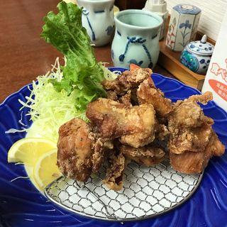 鶏の唐揚げ定食(鐘楼亭 (ショウロウテイ))