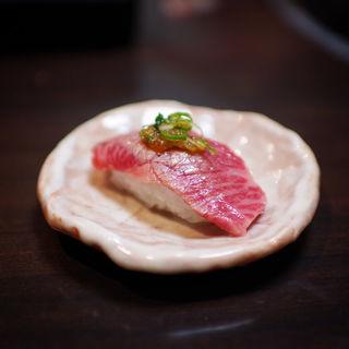 牛トロにぎり(伝心望 姫路本店 (でんしんぼう))
