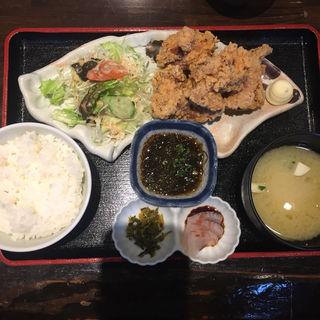 若鶏唐揚定食(博多 酒佳蔵)