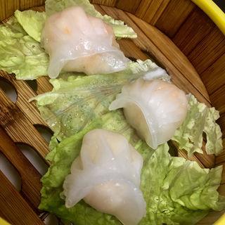 海老蒸し餃子(3個)(中華料理 順興閣)