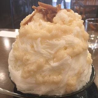 甘酒みるく、練乳トッピング(ヤマト屋)