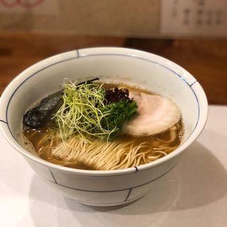 淡麗 優しい煮干し中華(別邸三く 中華㐂蕎麦 萃)