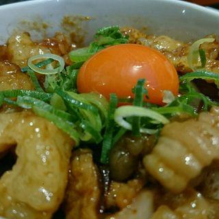 黒毛和牛のホルモン丼(麺とかき氷 ドギャン)