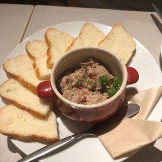 鹿児島産さつま地鶏のリエット(natural kitchen yoomi)