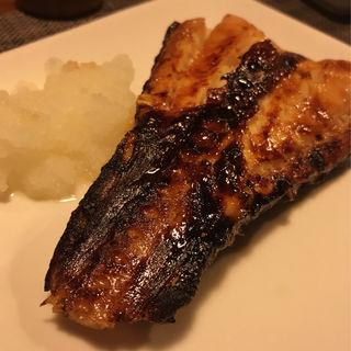 銀鱈の炭火焼き(阿古 )