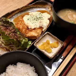 チキン南蛮定食(宮崎酒場えびす)