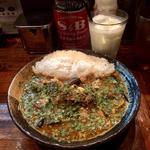 インド風カレー(サバ味噌+野菜)