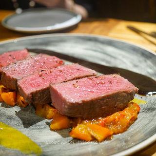 イベリコ豚のプレサ(スペイン料理サルデスカ )
