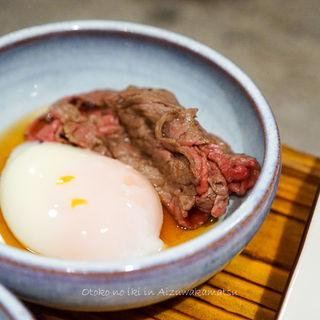 会津牛の焼きシャブ(芦名 )