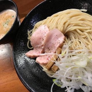 鶏白湯つけ麺(醤油と貝と麺 そして人と夢 )