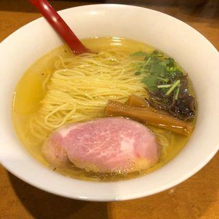 塩らーめん(細麺)(紅 (くれない))