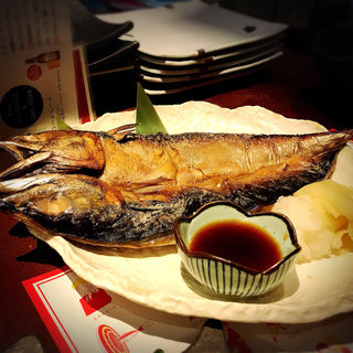 大とろさばのひらき塩焼き(SABAR 恵比寿店 (サバー))