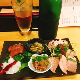盛り合わせ(大阪麺哲 (メンテツ))