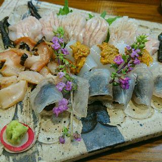 お造り盛合せ(魚菜きし )