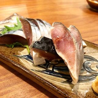 〆鯖(高野麦酒店takanoya)