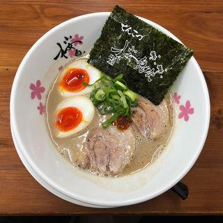 味玉豚骨(麺屋 桜息吹 )