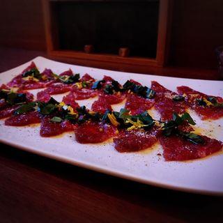 牛肉のカルパッチョ(ristorante match&832)