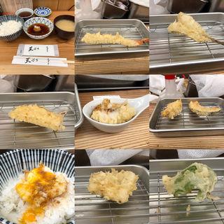 上天ぷら定食(天ぷらすずき)