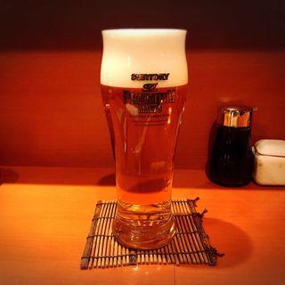生ビール(サントリー プレミアムモルツ)(かね萬六本木)