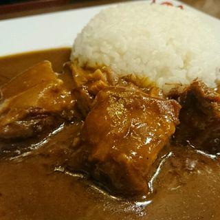 イベリコ豚バラチャーシューの脂身カレー(まりお流 )