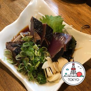 藁焼き鰹たたき(浪漫亭 新橋店 (ろまんてい))