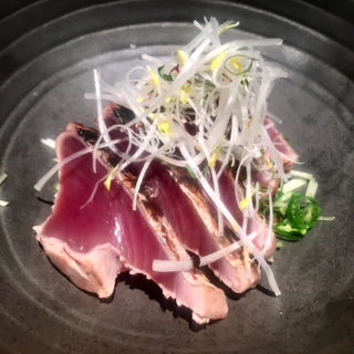 鰹のタタキ(赤坂かこい )