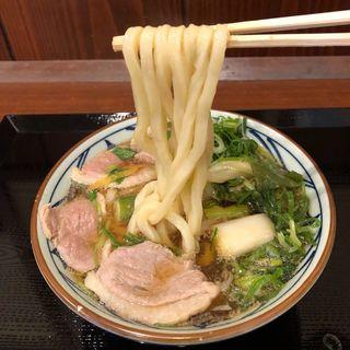鴨ねぎうどん(丸亀製麺 伊丹南町店 )