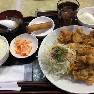 唐揚げ定食(金龍美食  近見店 )
