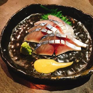 しめ鯖(和酒和食 恵比寿 黒帯 )
