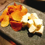 クリームチーズ味噌和え