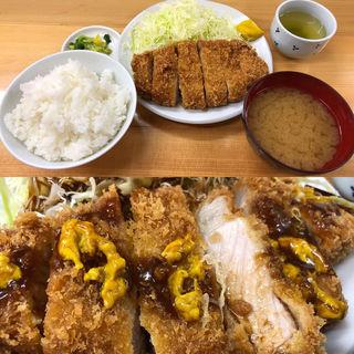 上ロースかつ定食(山家 蒲田店)