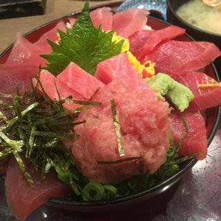 5種のマグロ三昧丼(喜水亭)