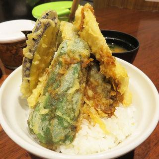 釧路産トロ鰯天丼(博多天ぷら たかお キャナルシティ店)
